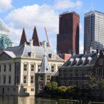 Met deze foto van de regeringsgebouwen van Nederland wil ik de val van het kabinet illustreren
